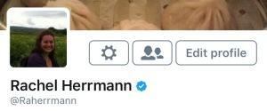 Screenshot of my verified Twitter profile